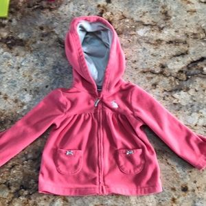 Cute Fleece Zip up Hoodie